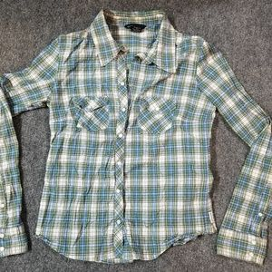 Abercrombie and Fitch Longsleeve Plaid Button Down